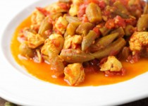 Chicken and okra ragout