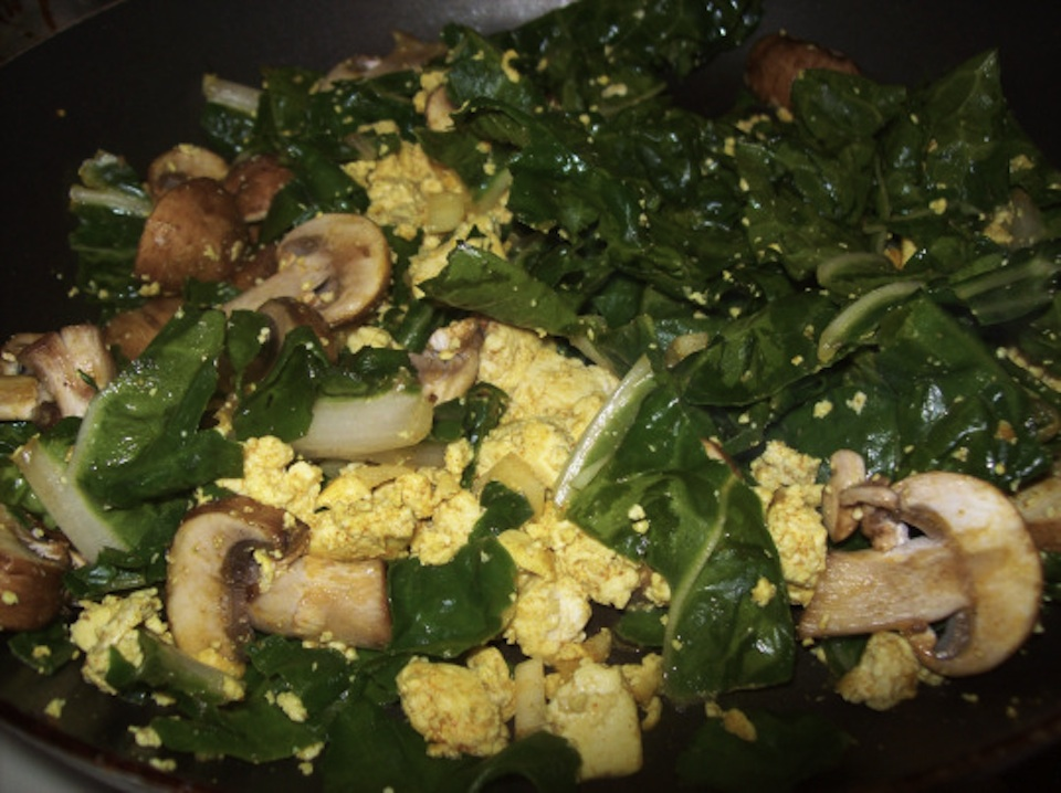 Swiss Chard and Egg Scramble -- Simple Smart Nutrition