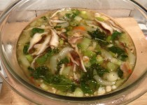 lg shiitake chicken soup