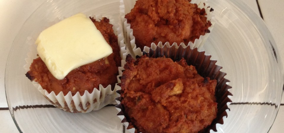 Paleo Carrot &#038; Apple Muffins