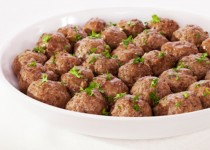 Asian Spicy Pork meatballs