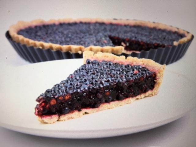 Blackberry Tart With Paleo Crust Simple Smart Nutrition