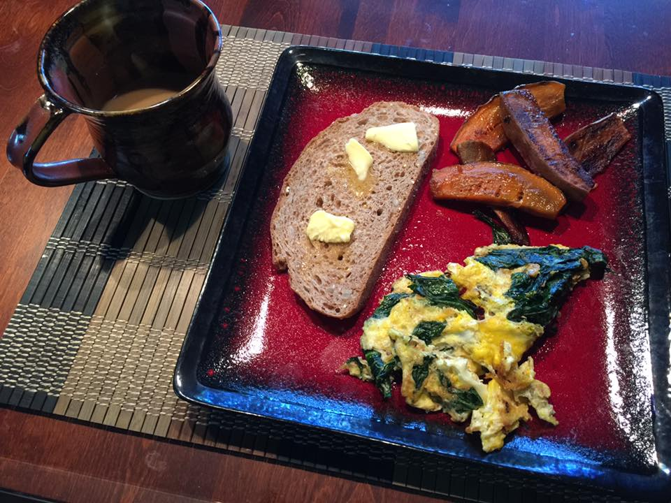 gk-eggs-dandelion-greens-sweet-potatoes